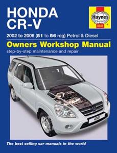 Honda CR-V 2002-06 Repair Manual 2.0 iVTEC Petrol And 2.2 iCDTi Diesel
