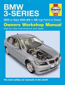 BMW 3 Series 2005-08 Repair Manual 318i 320i 325i 330i Petrol 318d 320d 325d 330d Diesel
