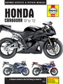 Honda CBR600RR 2007-12 Repair Manual