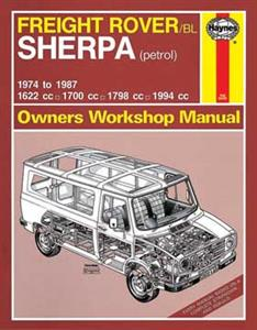 Freight Rover & Leyland Sherpa Petrol 1974-87 Repair Manual OUT OF PRINT