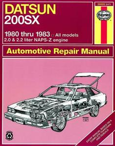 Datsun 200SX 1980-83 Repair Manual