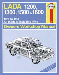 Lada 1200 to 1600 1974-91 Repair Manual inc Riva