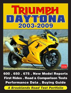 Triumph Daytona 2003-2009 Road Test Portfolio - Click Image to Close