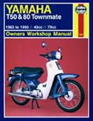 Yamaha T50 & 80 Townmate 1983-95 Repair Manual