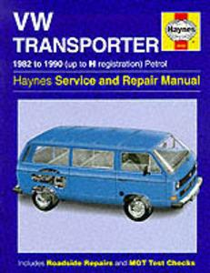 VW Transporter 1982-90 Repair Manual Water Cooled Petrol