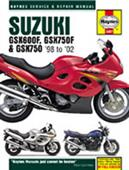 Suzuki GSX600F/750F & GSX750 1998-02 Repair Manual
