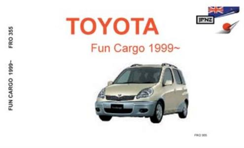Toyota Fun Cargo 1999-05 Translated Owner's Handbook