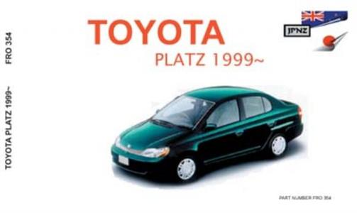 Toyota Platz 1999-2005 Translated Owners Handbook