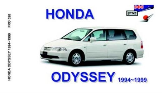 Honda Odyssey 1994-99 Translated Owner's Handbook