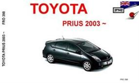 Toyota Prius 2003-09 Translated Owner's Handbook
