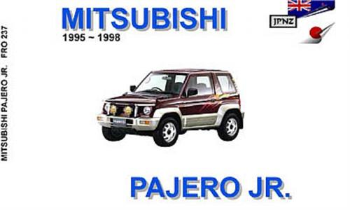 Mitsubishi Pajero Jr 1995-98 Translated Owner's Handbook