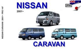 Nissan Caravan 2001on Translated Owner's Handbook