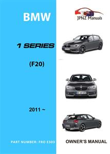 BMW 1 Series 2011-19 Translated Owners Handbook