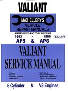 Chrysler Valiant AP5 & AP6 1963-66 Shop Manual