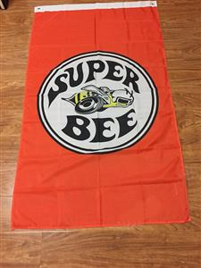 Plymouth Super Bee Flag 150x90cm