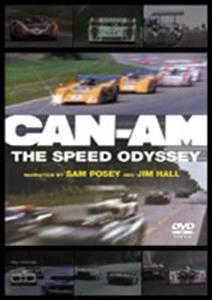 Can Am The Speed Odyssey DVD PAL Region2/4 95mins OUT OF PRINT