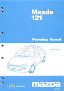 Mazda 121 1990-93 Factory Workshop Manual 2 Volume Set SECOND-HAND