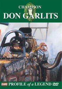 Champion Don Garlits Profile Of A Legend DVD PAL Region0 55mins