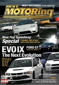 Best Motoring - Evo IX The Next Evolution DVD PAL Region2 90mins
