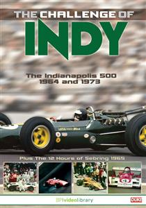 Challenge Of Indy - The Indianapolis 500 1964 & 1973 BP Video Library DVD NTSC Region0 73mins