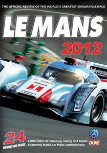 Le Mans 2012 Review DVD PAL Region0 240mins