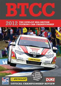 BTCC Official Championship Review 2012 2DVD Set PAL Region0 430mins