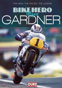 Bike Hero Wayne Gardner DVD PAL Region0 60mins
