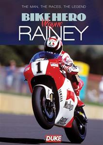 Bike Hero Wayne Rainey DVD PAL Region0 59mins