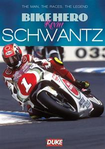 Bike Hero Kevin Schwantz DVD PAL Region0 60mins