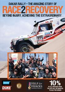Dakar Rally The Amazing Story Of Race2Recovery - Beyond Injury, Achieving The Extraordinary DVD PAL Region0 190mins
