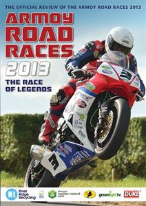Armoy Road Races 2013 DVD PAL Region0 94mins