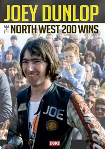 Joey Dunlop - The North West 200 Wins DVD PAL Region0 120mins