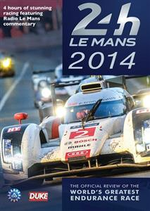 Le Mans 24h 2014 DVD - The Official Review Of The World's Greatest Race PAL Region0 240mins