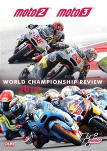 MotoGP Moto2 & Moto3 2014 Official Review DVD PAL Region0 215mins