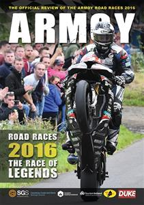 Armoy Road Races 2016 DVD PAL Region0 97mins