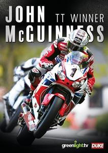 John McGuinness TT Winner DVD PAL Region0
