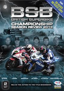 British Superbike Championship Season Review 2013 2DVD Set PAL Region0 280mins