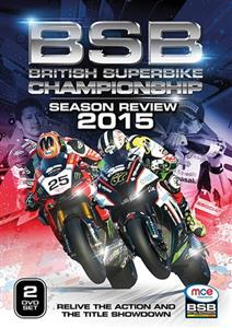 British Superbike Championship Season Review 2015 2DVD Set PAL Region0 304mins