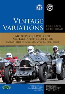 Vintage Variations On Track And Off Road - Motorsport With The Vintage Sports Car Club DVD PAL Region0 150mins