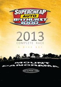Bathurst 1000 2013 Complete Race 4DVD Set PAL Region4 500mins