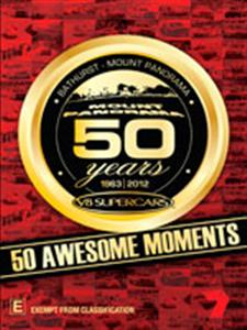 50 Years Of Bathurst 1963-2012 - 50 Greatest Moments DVD PAL Region4 115mins