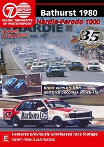 Bathurst 1980 Hardie-Ferodo 1000 - Magic Moments Of Motorsport DVD PAL Region4 240mins