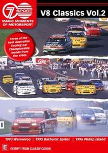 V8 Classics Vol 2 - Seven's Magic Moments Of Motorsport DVD PAL Region4 240mins