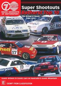 Super Shootouts - Seven's Magic Moments Of Motorsport DVD PAL Region4 240mins