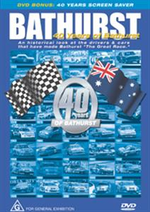 40 Years Of Bathurst - An Historical Look At The Drivers & Cars That Have Made Bathurst The Great Race DVD PAL Region4 60mins