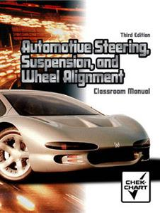 Automotive Steering Suspension and Wheel Alignment 3rd ed 2vol