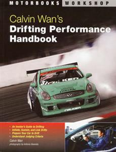 Calvin Wans Drifting Performance Handbook OUT OF STOCK INDEF