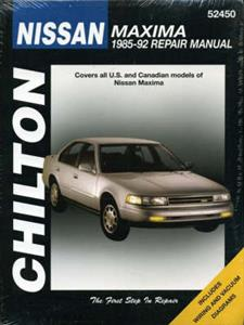 Nissan Maxima 1985-92 Repair Manual