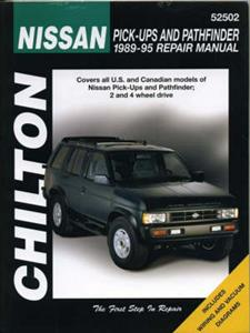 Nissan Pickups And Pathfinder 1989-95 Repair Manual
