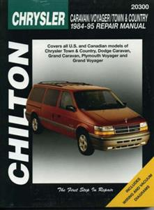 Chrysler Caravan Voyager And Town & Country 1984-95 Repair Manual